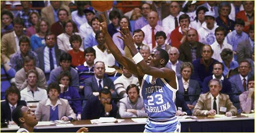 Louisiana State Univeristu vs. North Carolina - 29 janvier 1984