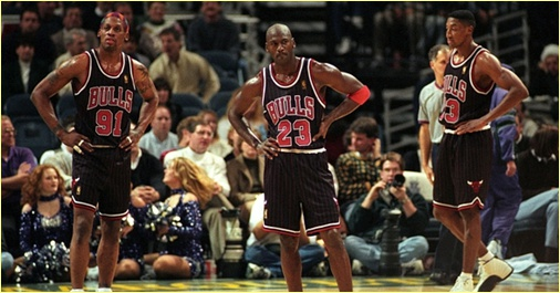 Washington Bullets vs Chicago Bulls - 30 avril 97 - 1st Round Game 3