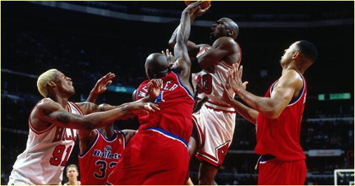 Washington Bullets vs. Chicago Bulls - 14 janvier 1997