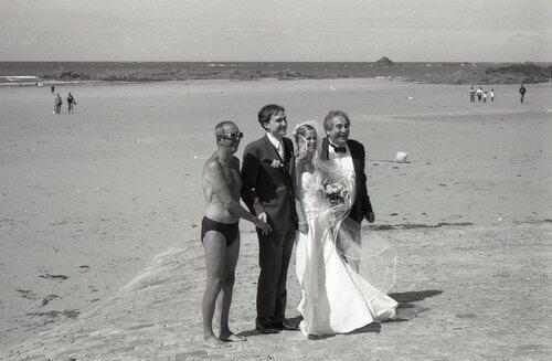 The Bride on the Beach