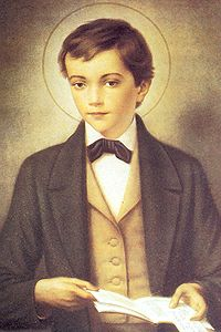 Saint Dominique Savio. Disciple de saint Jean Bosco († 1857)