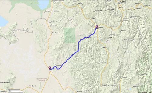 17.06.2013 - Potosí > Uyuni
