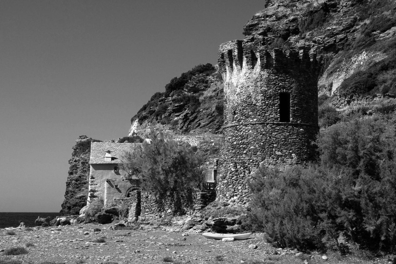 Balade en Corse en N&B #181101