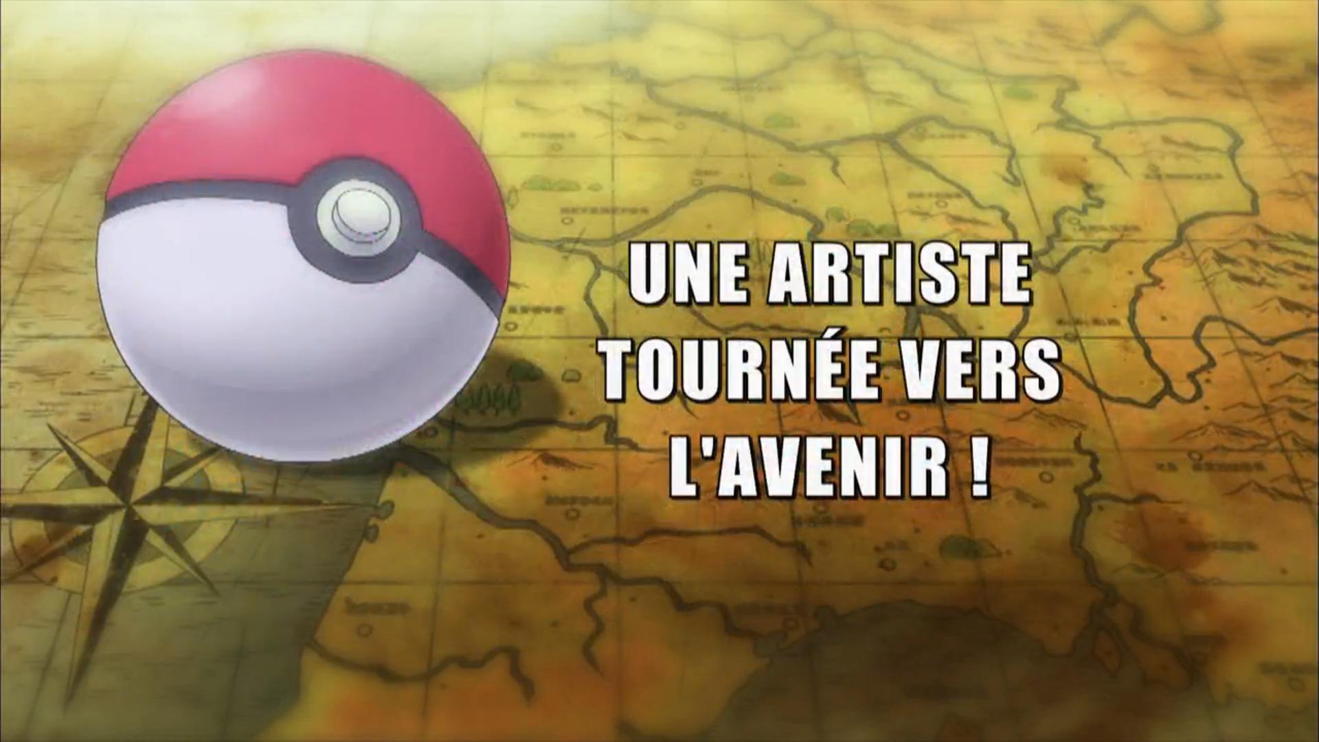 Pokémon - 19x20 - Une artiste tournée vers l'avenir !