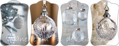 Cartonnettes Boule ronde Noël !