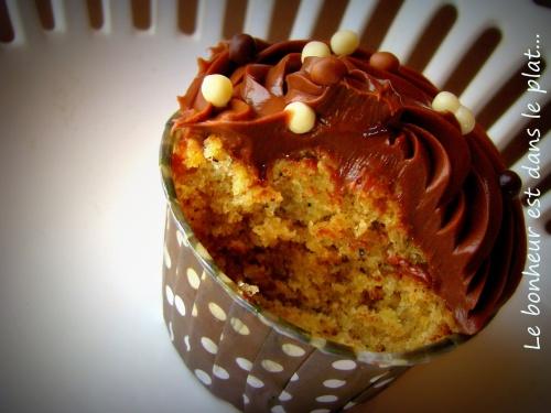Cupcake choco-noisettes
