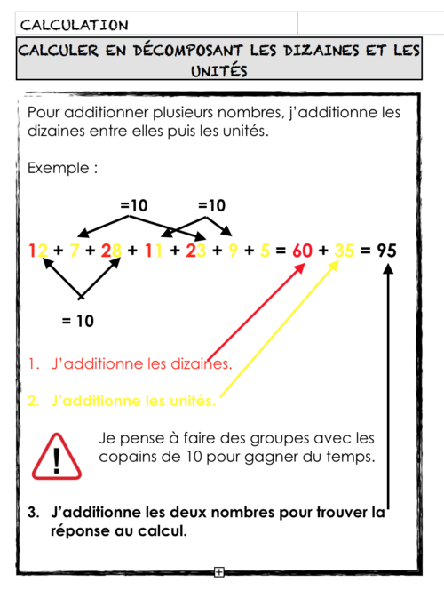 Outils math 4H (CE1)