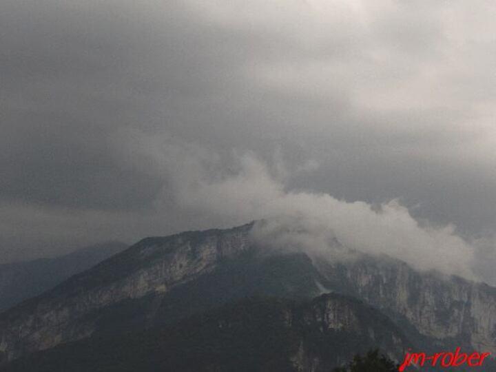 l'Isère:  OUF! Enfin la pluie après une semaine de canicule