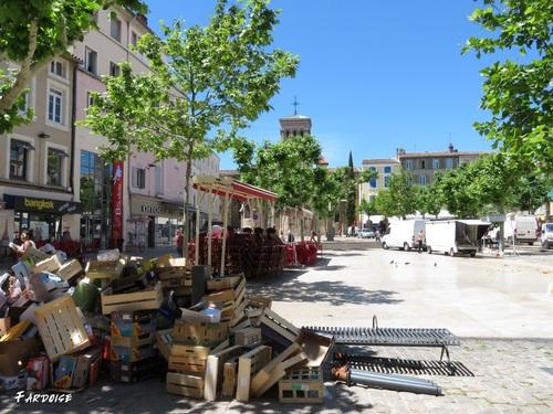 Couleurs du marché à Valence