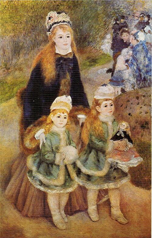 Renoir /9/  1874 - Fragonard inspire l'artiste : la liseuse .