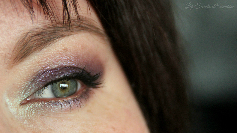 Make up tutoriel en pistache et prune