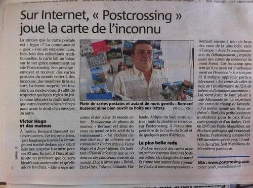 dans la presse au Lavandou