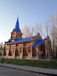 Tomsk, le travail du bois