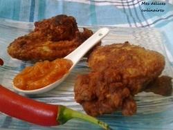 Ailes de poulet à la sauce piquante