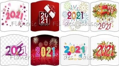 Bonne Année 2021 ! cartonnettes