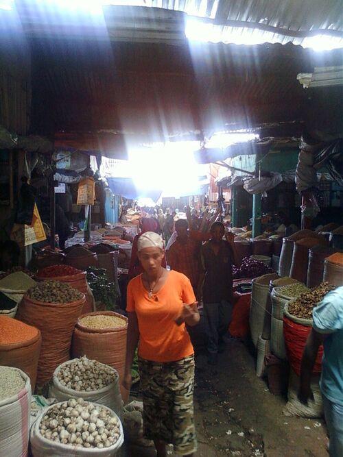 Le marché de Shola