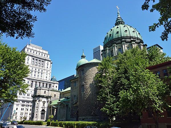 Montréal Cathédrale Marie Reine du Monde 2