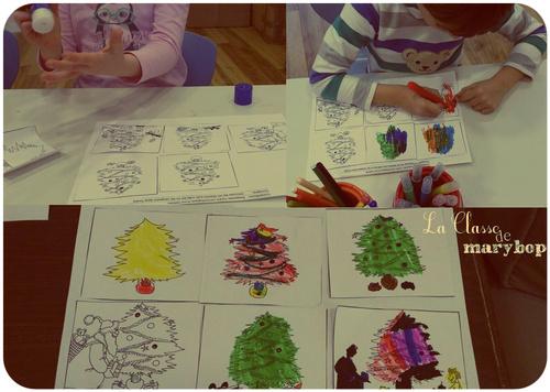 Cartes de Noël et images séquentielles