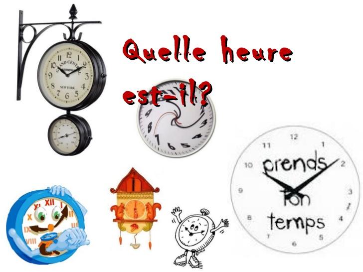 Quel heure est-il?