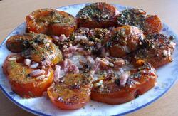 Tomates et ventrèche