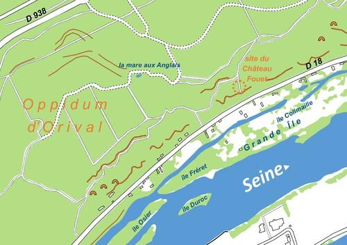 LES REMPARTS D'ORIVAL (Seine-Maritime)