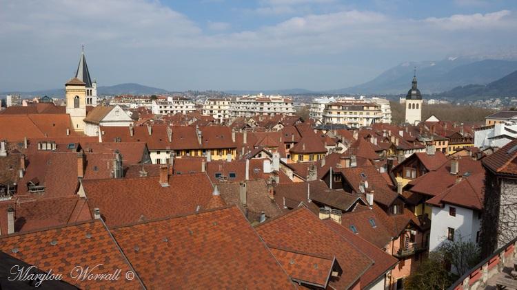 Pays de Savoie : Hôtel du château Annecy