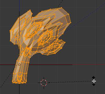 Curseur de la souris loin du curseur 3D