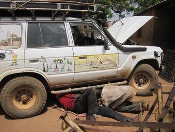 Bénin tanguieta Nouvelle soudure africaine sur le Toy