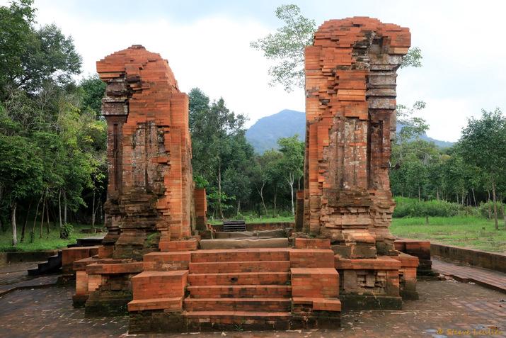 Le sanctuaire de My-Sön : groupe K, Vietnam 2019
