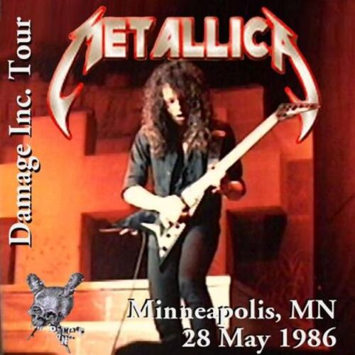 Damage Inc  U S A  (Ozzy Tour) - Metallica-French Metal Militia