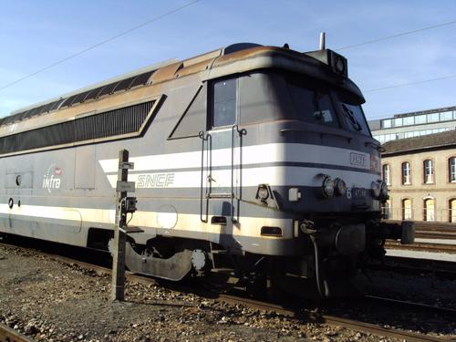La BB 67244 INFRA à Chartres