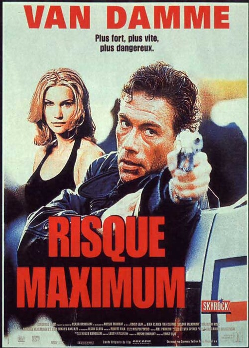 RISQUE MAXIMUM AFFICHE
