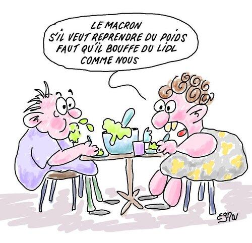 La société française vue avec humour sur le net.