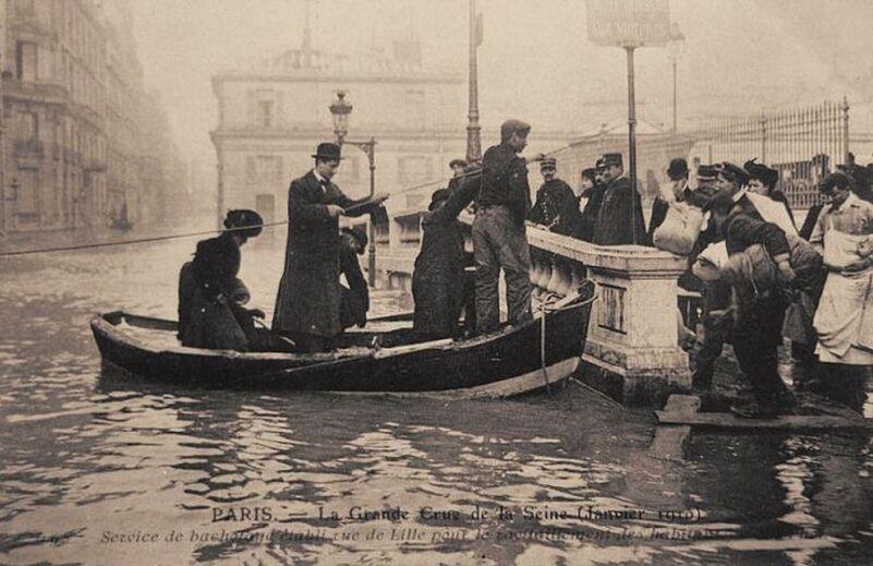 La crue de janvier 1910