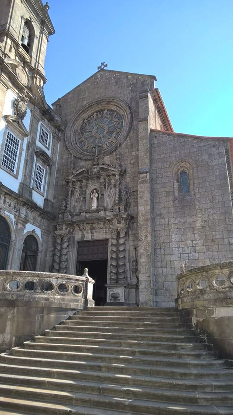 Église st Francisco à Porto.