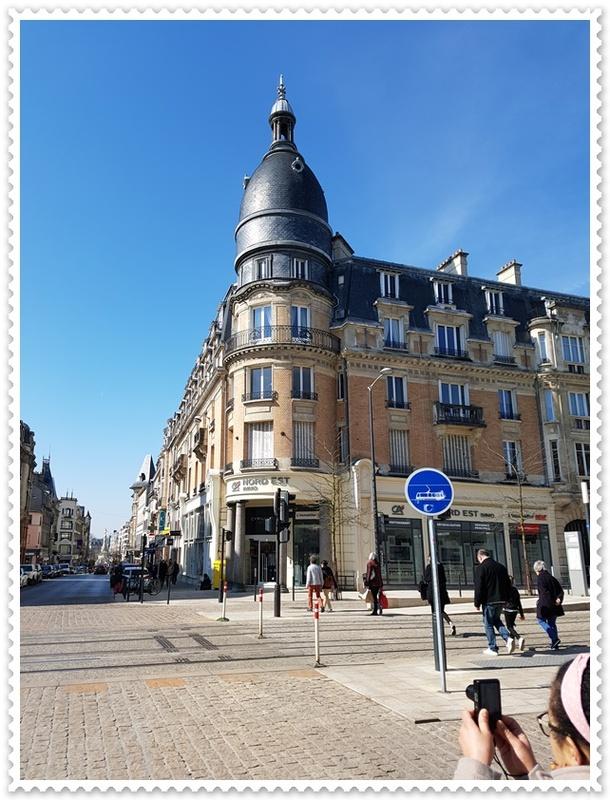 Reims avec le soleil