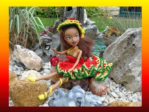 Poupées Créations 2016 :Couleurs Caraïbes (1)