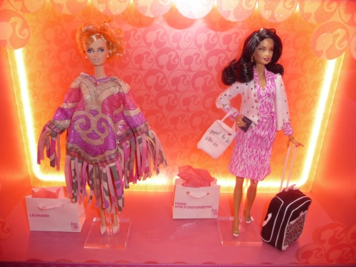 EXPOSITION 50 ANS BARBIE GALERIES LAFAYETTE AVRIL 2009
