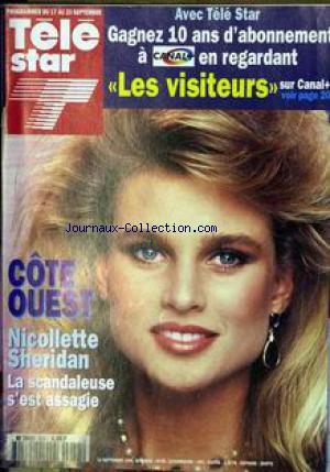 Nicolette Sheridan en couverture de programmes TV français.