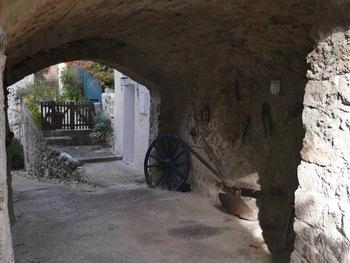 Le passage du Tombadou ...