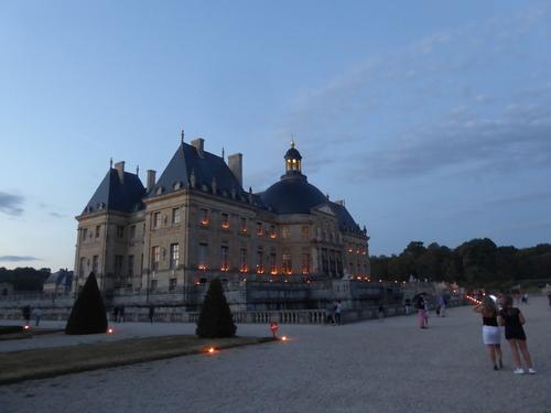 Dîner au Château de Vaux le Vicomte, le 01/08/20