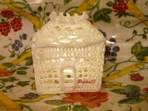 Mon village blanc au crochet : la résidence (3)