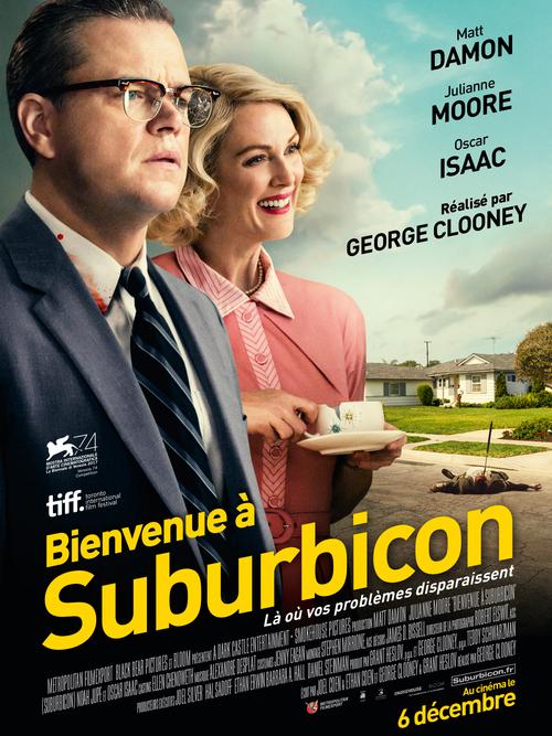 [Bande-Annonce] BIENVENUE À SUBURBICON, le nouveau film de George Clooney, sortira le 6 décembre 2017 au cinéma !