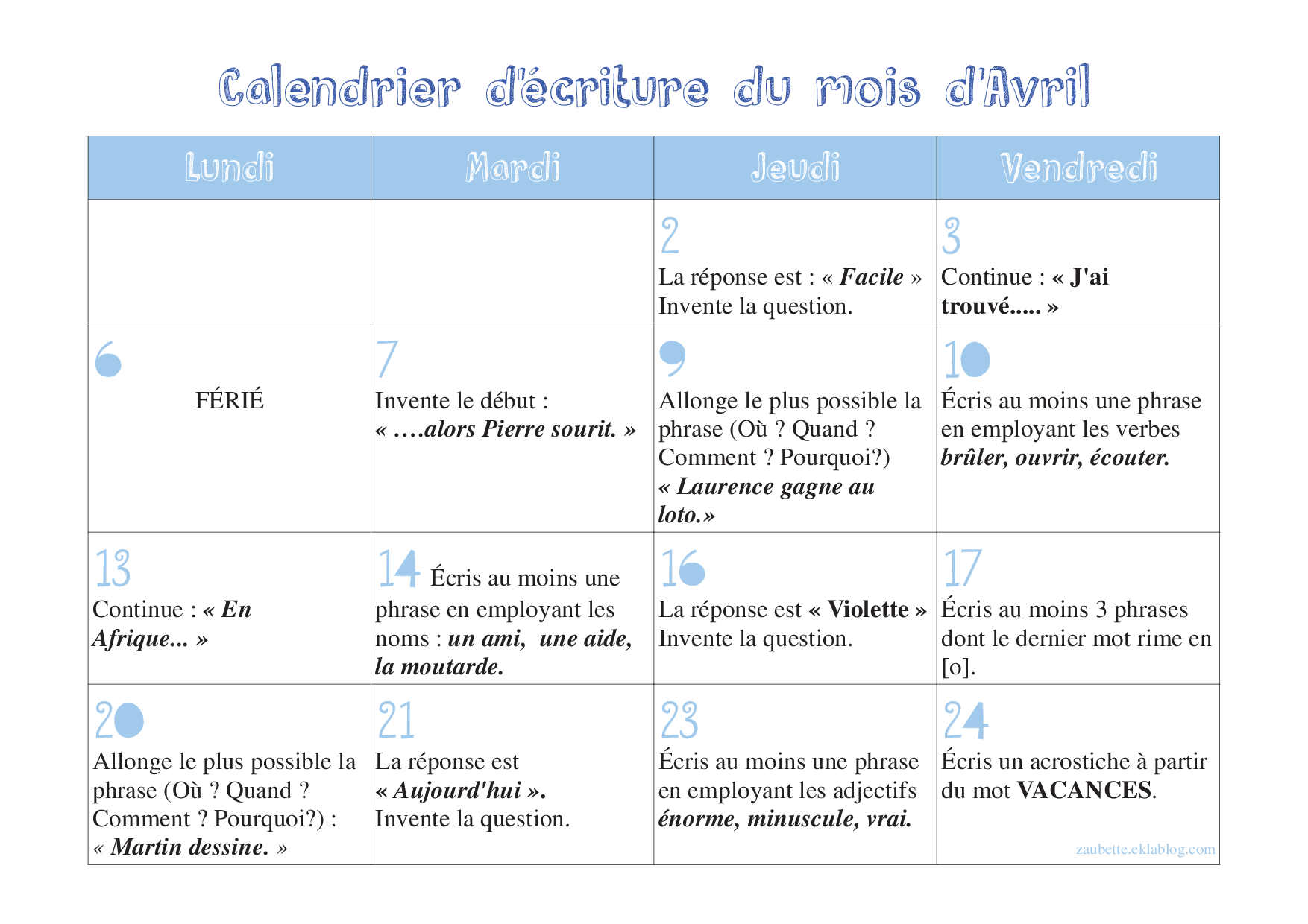 """... Results for """"Calendrier Pour Cp Mars 2016"""" – Calendar 2015"""