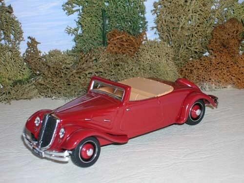 Citroën Traction 22 cabriolet 1934