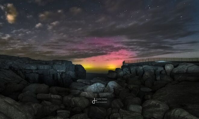 southern lights nature photography