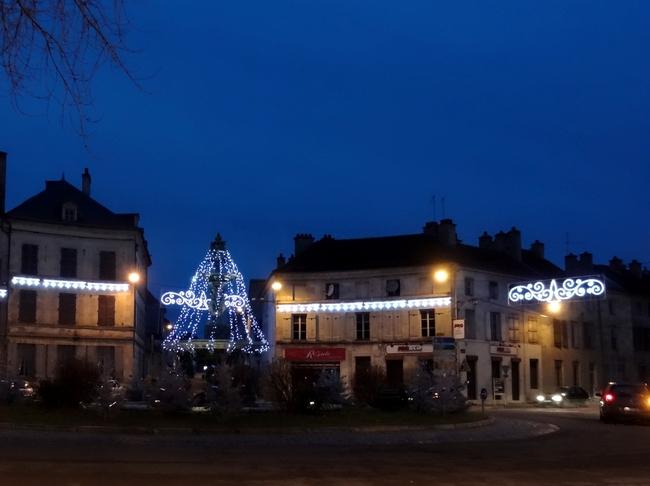 L'heure bleue, c'est le moment de la journée où les illuminations sont les plus belles....