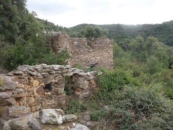 Ruines à la Derroucade