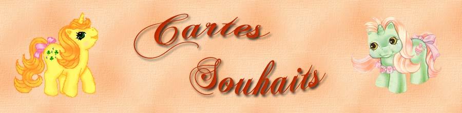 Cartes Souhaits Poney