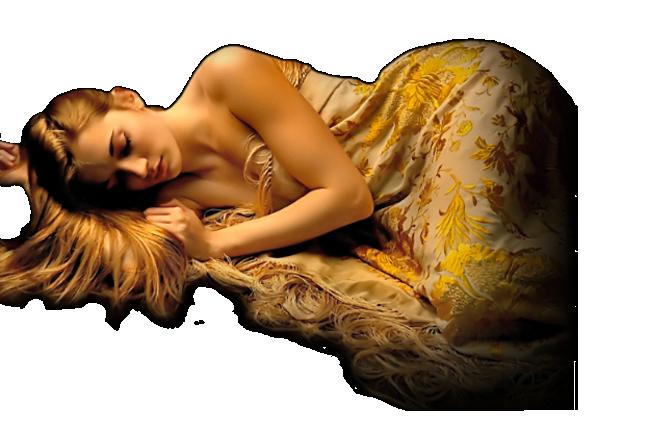 Femmes allongées